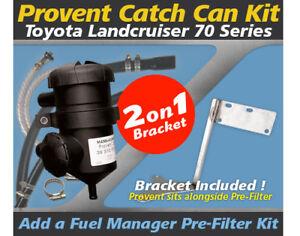 Mann-ProVent-Oil-Catch-Can-Bracket-Kit-for-Toyota-Landcruiser-70-Series-2007-on