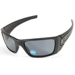 e84ff297408 Oakley Fuel Cell OO 9096-05 Matte Black Grey Polarised Men s Sport ...