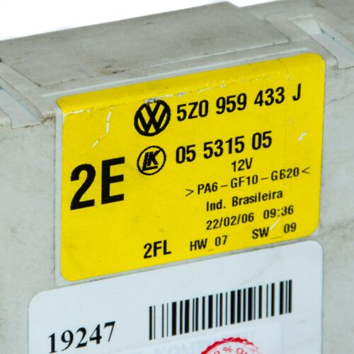 Komfortsteuergerät 5Z0959433J  5Z0 959 433 J VW Fox 2005