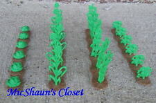 NEW MARX CROP CORN ROWS 54 MM 1/32 FARM TOY SOLDIER PLAYSET ACCESSORY