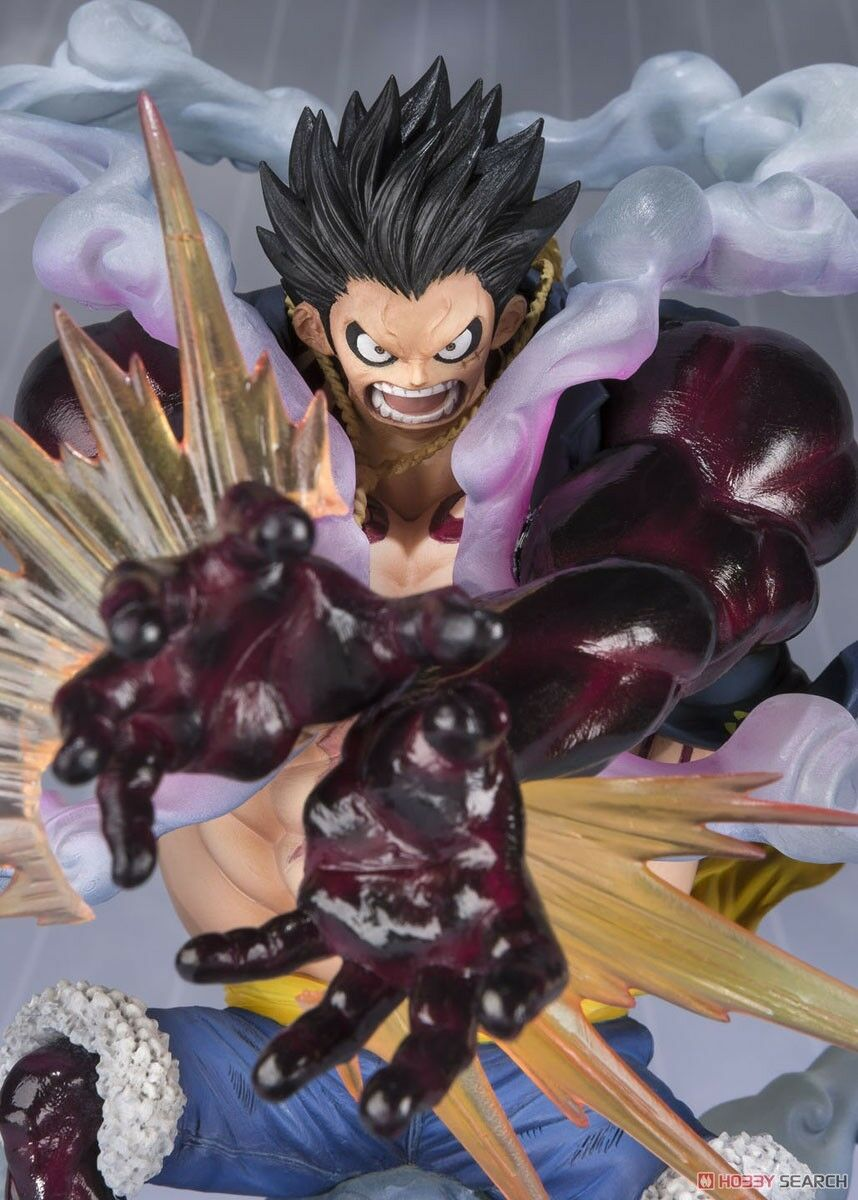 One Piece Leo Monkey D. Ruffy Vierte Gear Leo Piece Panzerfaust Figuarts Null Bandai 13a3e3