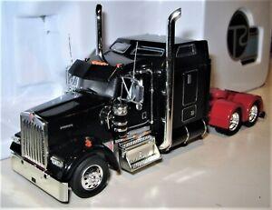 Tonkin-786130-Kenworth-W900L-Semi-Tractor-in-Black-Die-cast-1-53-MIB