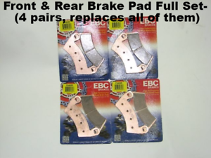 EBC-Sintered-Front-and-Rear-Brake-Pads-Polaris-RZR-1000-14-15-4-sets