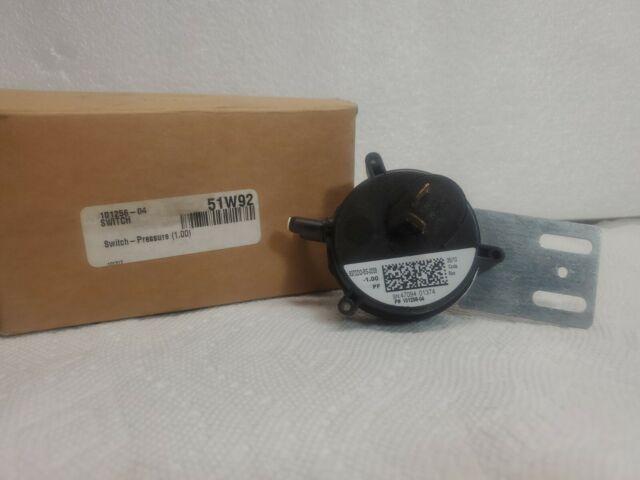 Lennox Corporation 51W92 1WC Pressure Switch