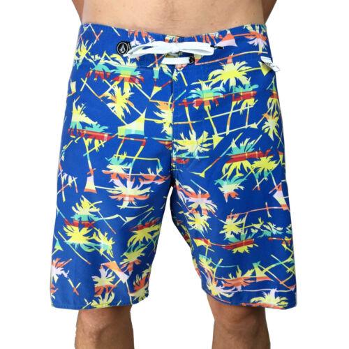 38. Jazzy Blue // Palm Tree Mens BoardShort 32 VOLCOM 34 Mens Size 29
