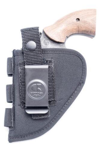 "Ruger SP101 2/""Nylon OWB Outside Pants Belt Gun Holster w// Ammo Loops"