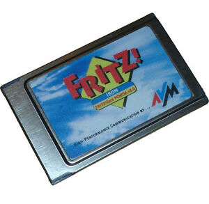 AVM-FRITZ-CARD-PCMCIA-2-0-ISDN-KARTE-CARD-FOR-NOTEBOOK