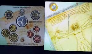 Marque De Tendance Italie Série Divisionnaire Officiel 2004 (9 Monnaies) Fdc Attrayant Et Durable