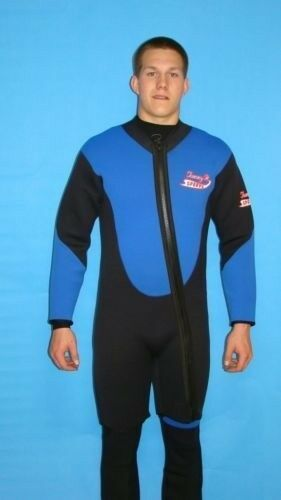 Wetsuit 5 MM Farmer John up to 5X Plus Size  2 Piece Stretch Series Scuba 9000 FJ  limit buy