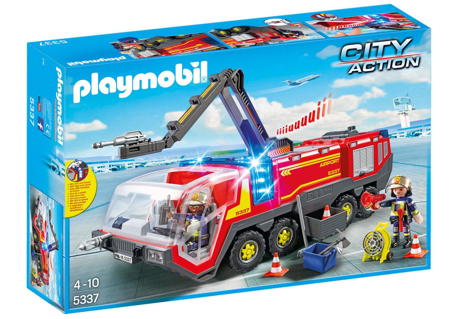 Playmobil 5337 - Camión Bomberos Aeropuerto - NUEVO