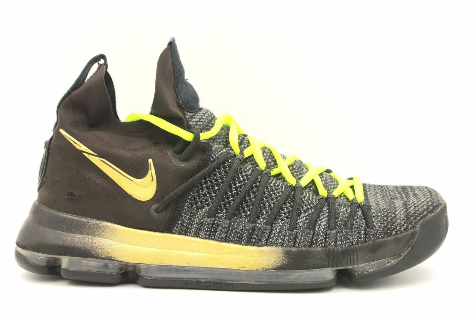 online store 48667 4cefa NIKE Zoom KD9 Elite Elite Elite Men Basketball Shoes Size 11 Black  878637-007 5ce34d