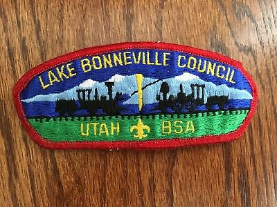 Used CSP Great Salt Lake Council Utah T-2