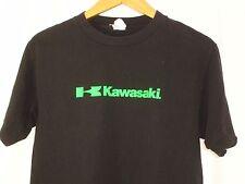 Kawasaki Alstyle Black Green Logo Short Sleeve T Shirt M