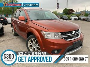 2014 Dodge Journey R/T | 7PASS | AWD | NAV | DVD | LEATHER | ROOF