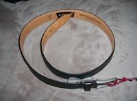 Levi's Mens Black Genuine Leather Lining Belt-szs 36,38,40-msrp $30-nwt