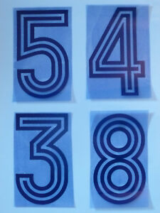 Flock-Nummer-number-away-Trikot-jersey-shirt-Frankreich-France-1978-1982-1984