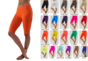 8b593fb57a949b Details about 1 - 6 SEAMLESS WORKOUT SPANDEX ATHLETIC STRETCH YOGA LEGGINGS  BIKER SHORTS LOT