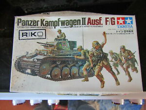 TAMIYA-PLASTIC-MODEL-KIT-PANZER-KAMPFWAGEN-II-AUSF-F-G-NOT-STARTED