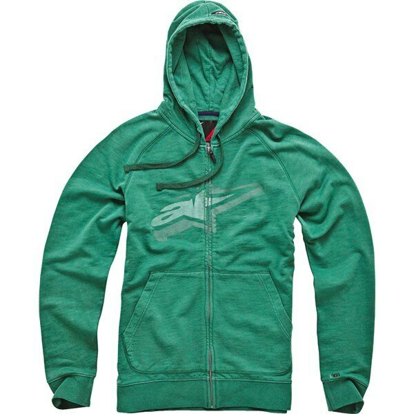 Alpinestars Wakefield Fleece Hoody (M) Green