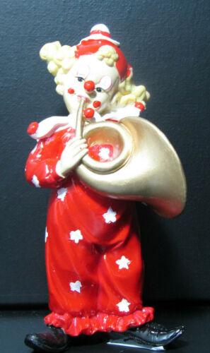 Cl10017144-c musique-clown Tuba CLOWN-CIRQUE-MUSIC HALL la piste Dekofigur Artist