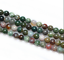 15-039-039-4mm-6mm-8mm-10mm-12mm-Natural-Indian-Agate-Gemstone-Round-Beads thumbnail 1