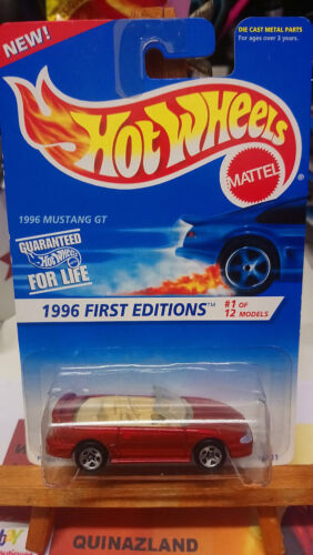 Hot Wheels First Editions 1996 Mustang GT 1996-378 9997