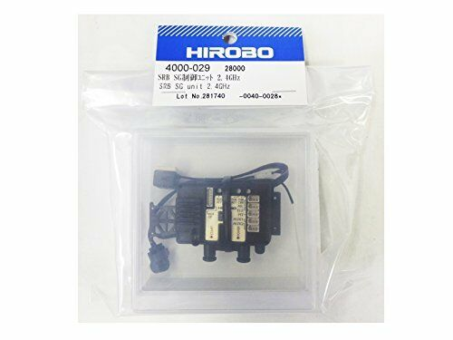 Hirobo 4000-029 Srb Sg Control Unidad 2.4GHZ Futaba S-FHSS Cocheacterísticas