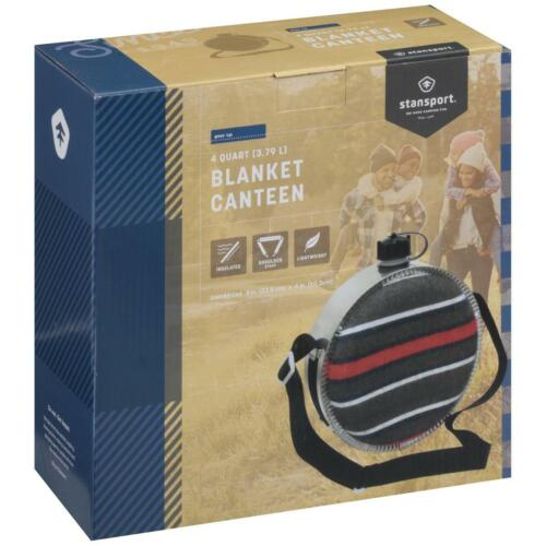 Stansport 290 Canteen 4 Qt With Blanket Cover