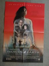 Heaven Earth Tommy Lee Jones Joan Chen introducing Hiep Thi Le  poster1993 27X41