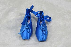1-3-BJD-girl-SD-ballet-shoes-slippers-toe-shoe-Doll-ABJD-Dollfie-Toy-Blue