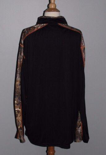 NEW Men/'s Hunting Shirt REALTREE Xtra Polyester 1//4 Zip Long Sleeve Camo XL XXL