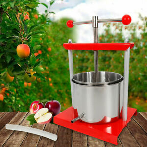 1-6-Gallon-Stainless-Steel-Fruit-Press-Wine-Juice-Cider-Cheese-Sausage-Tincture