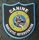 OLD MIAMI FLORIDA POLICE CANINE NARCOTIC INTERVENTION PATCH UNUSED