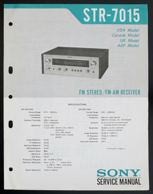 Sony Str Am Stereo Receiver Service Manual  Diagram Top O133