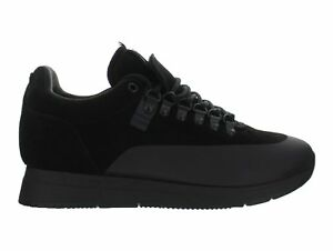 Mens-Akio-Orion-Suede-Triple-Black-AK-0003-BLK