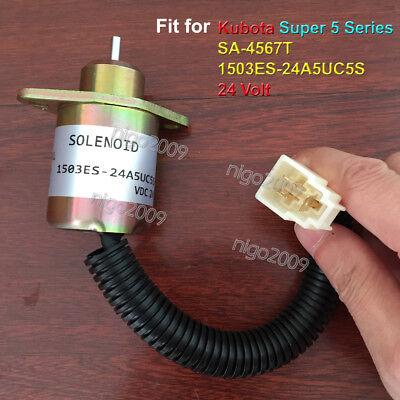 SA-4561-T 24V Fuel Shutoff Solenoid Valve 1503ES-24A5UC9S SA-4561T-24 for Kubota
