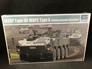 Trumpeter-JGSDF-Type-96-WAPC-Type-A-Grenade-Launcher-1-35-Scale-Model-Kit-01557