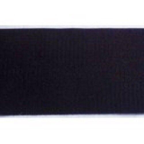 nur Hakenband schwarz 150 mm zum Nähen 1m Klettband