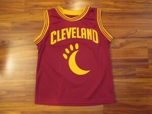 c31244c7355 Image is loading Cleveland-Cavaliers-MOONDOG-Mascot-Jersey-Small-Wine-amp-
