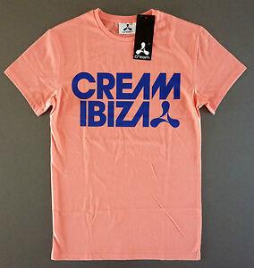 Original-CREAM-Ibiza-Herren-T-Shirt-Club-Tee-Rosa-Pink-XS-S-M-L-XL-XXL-Primark