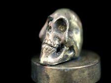 Sigillo sigilli Memento Mori teschio skull VANITAS Mason Wax Seal STAMP