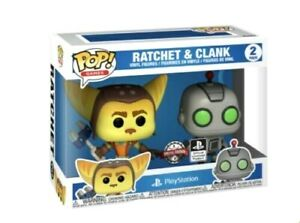 Ratchet & Clank esclusivo FUNKO POP SONY GIOCHI PLAYSTATION 2 Pack pre ordine