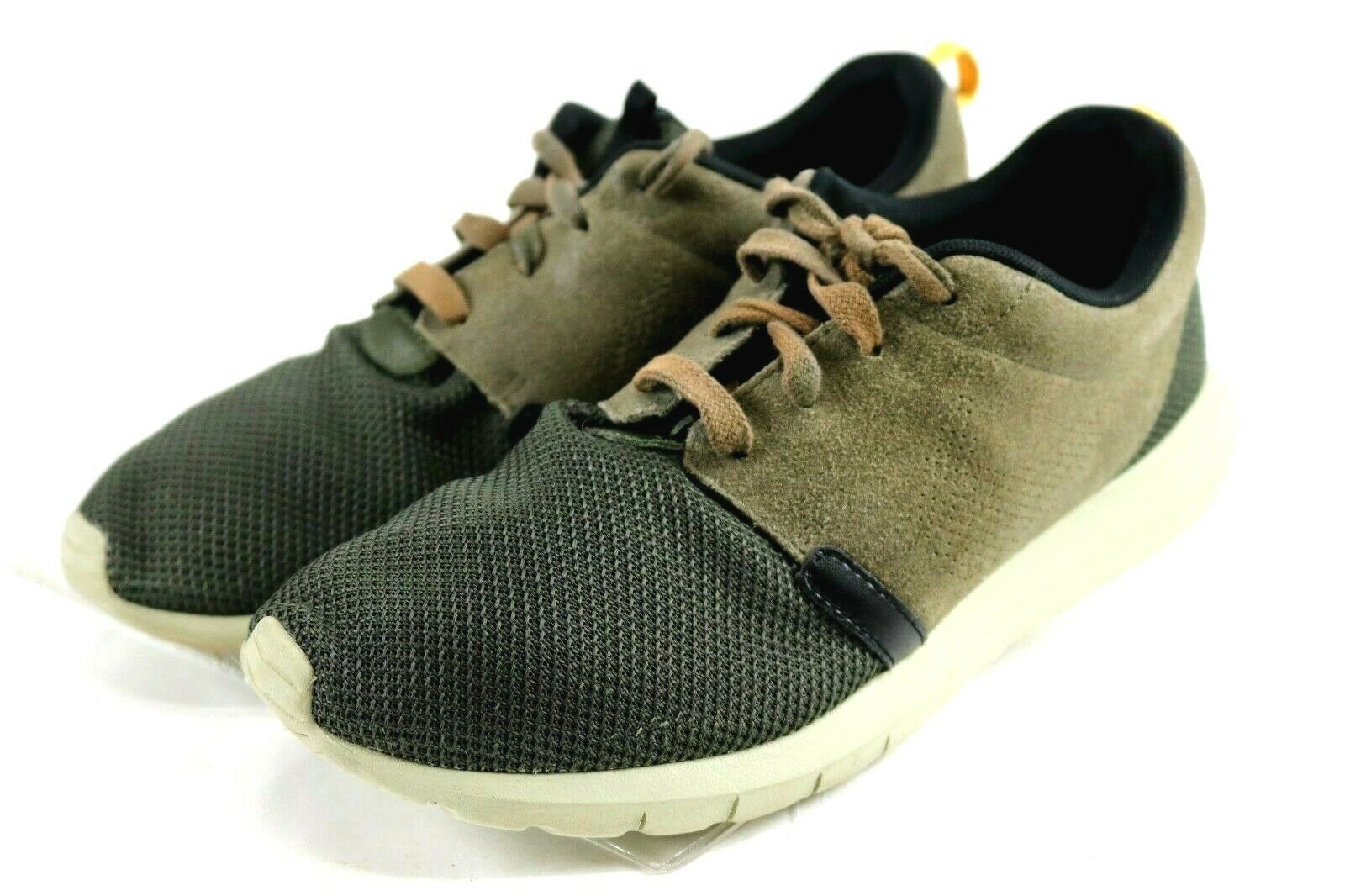 Nike Rosherun NM FB  120 Men's Trainer shoes Size 10 Olive Green Brown