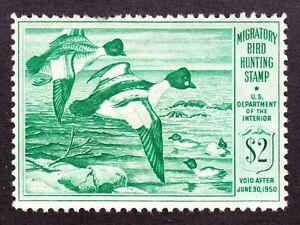 US RW16 $2 Duck Hunting Mint F-VF OG H SCV $75