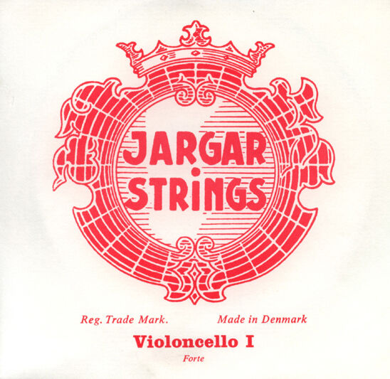 Genuine Jargar Cello  String Set 4 4 FORTE