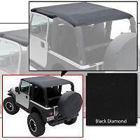 Smittybilt Extended Top 97-06 Jeep Wrangler TJ 93635 Black Diamond