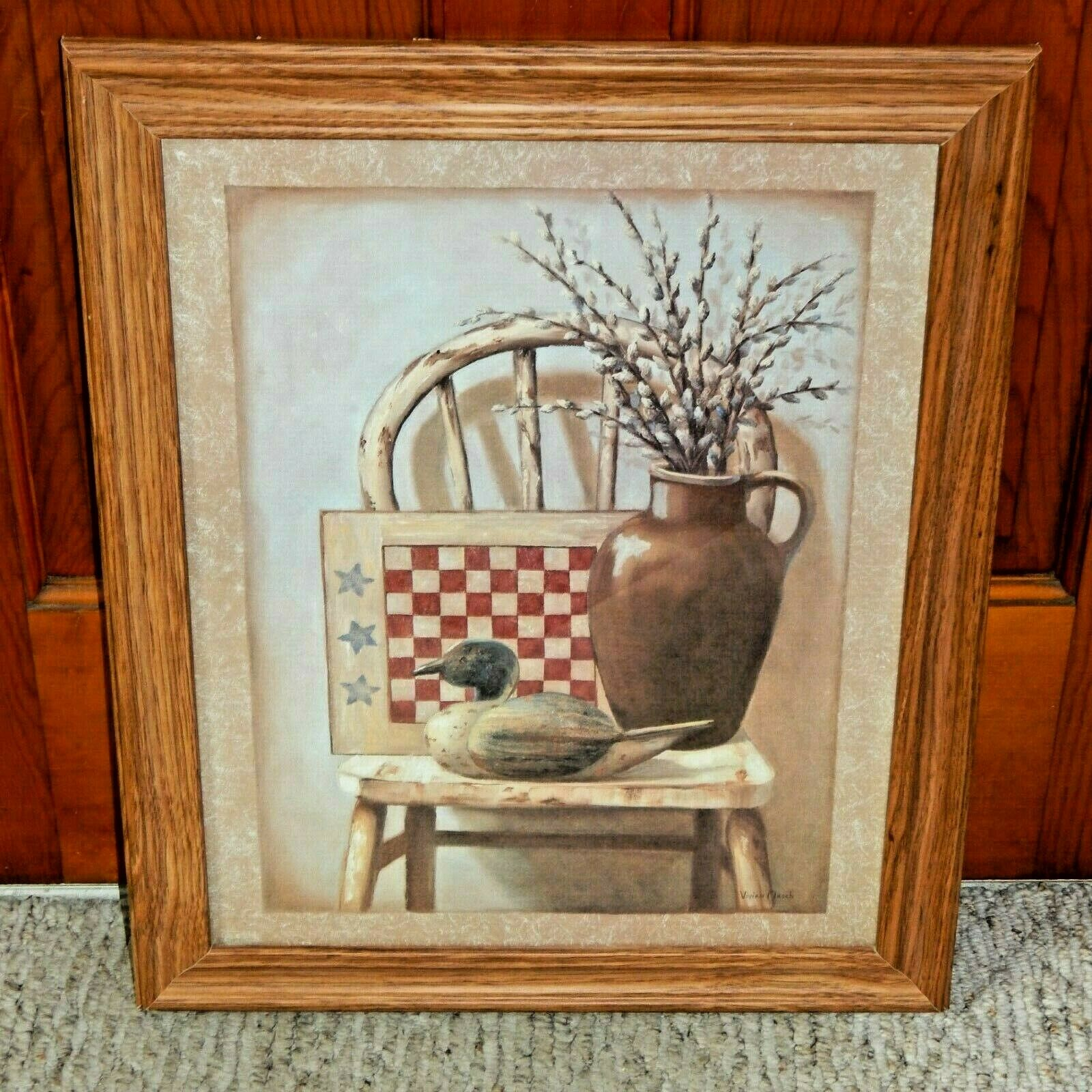 Classy Art Wholesalers Topiary Ii By Vivian Flasch Framed Painting Print For Sale Online Ebay
