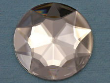 50mm Round Costume Making Gems Flat Back Acrylic Jewels High Quality 4 Pieces