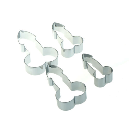 Stainless Willy Penis Cookie Cutter Baking Biscuit Fondant Cake Mold Funny RCCA