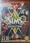 The Sims 3: Showtime Limited Edition Expansion Pack - PC Game Windows/Mac New!!!